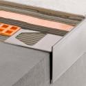 BARA-RT - T-förmiges Abschlussprofil für Balkon- und Terrassenbeläge