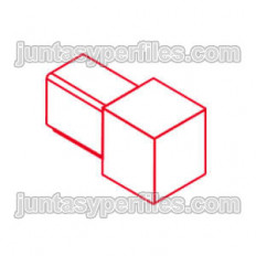 Novolistel 3 Alum terminal - Aluminum corners