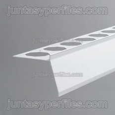 Novovierteaguas GT - Perfil vierteaguas de aluminio recto