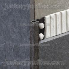 Novolistel MaxiSahara - Profilé carré de bordure décorative