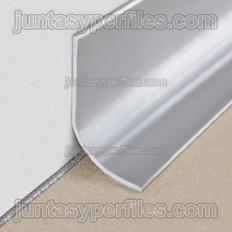 Rodapié en resina de vinilo flexible 60/120
